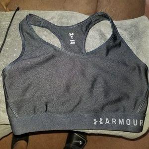 Black Under Armour sports bra